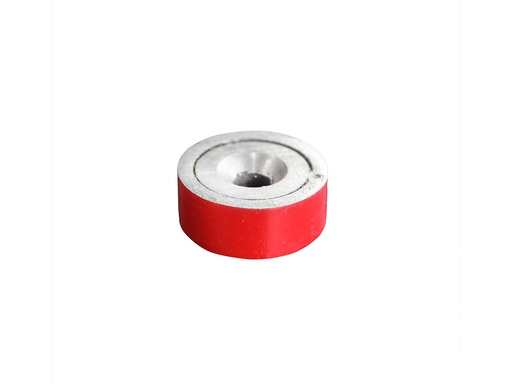 Alnico Shallow Pot Magnet Ø19mm x 7.6mm - 3.5mm Hole