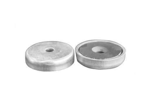 Ceramic Ferrite Pot Magnet Ø32mm x 7mm - 5mm Countersunk Hole