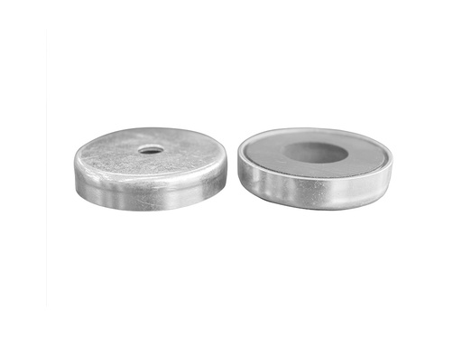 Ceramic Ferrite Pot Magnet Ø50mm x 11mm - 8.5mm Hole