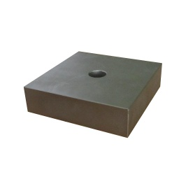 [10115] Neodymium Block Magnet 150mm x 150mm x 40mm N42 with 25.5mm hole