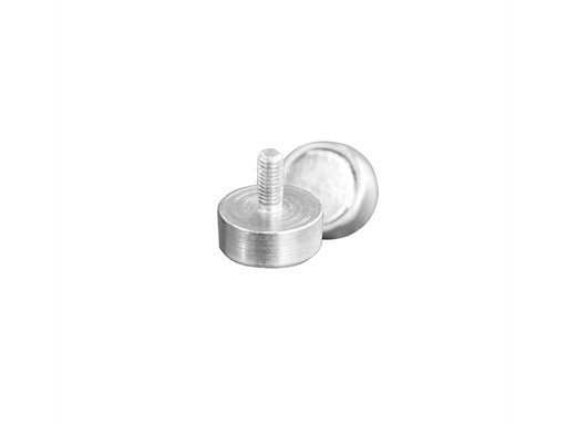 Neodymium Pot Magnet Ø10mm x 5mm - M3 External Thread