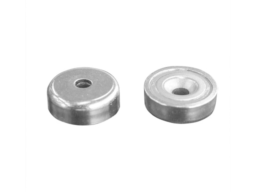 Neodymium Pot Magnet Ø25mm x 8mm - 5.5mm Countersunk Hole