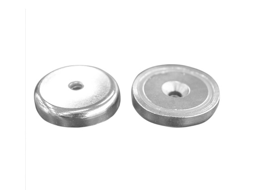 Neodymium Pot Magnet Ø48mm x 11.5mm - 8.5mm Countersunk Hole
