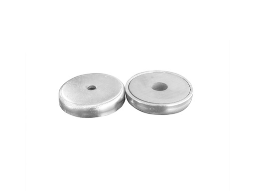 Ceramic Ferrite Pot Magnet Ø31mm x 4mm - 3mm Hole 2 pcs