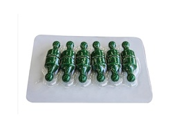 [10666] Magnetic Pawns - Green - Pack of 12
