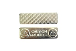 [10566] Magnetic Name Badge Fitting - Standard