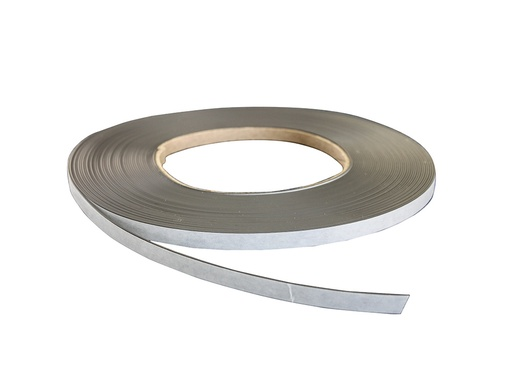 "Magnetic Strip - Self Adhesive - Matched Pair ""A"" 12.7mm x 1mm - per metre"